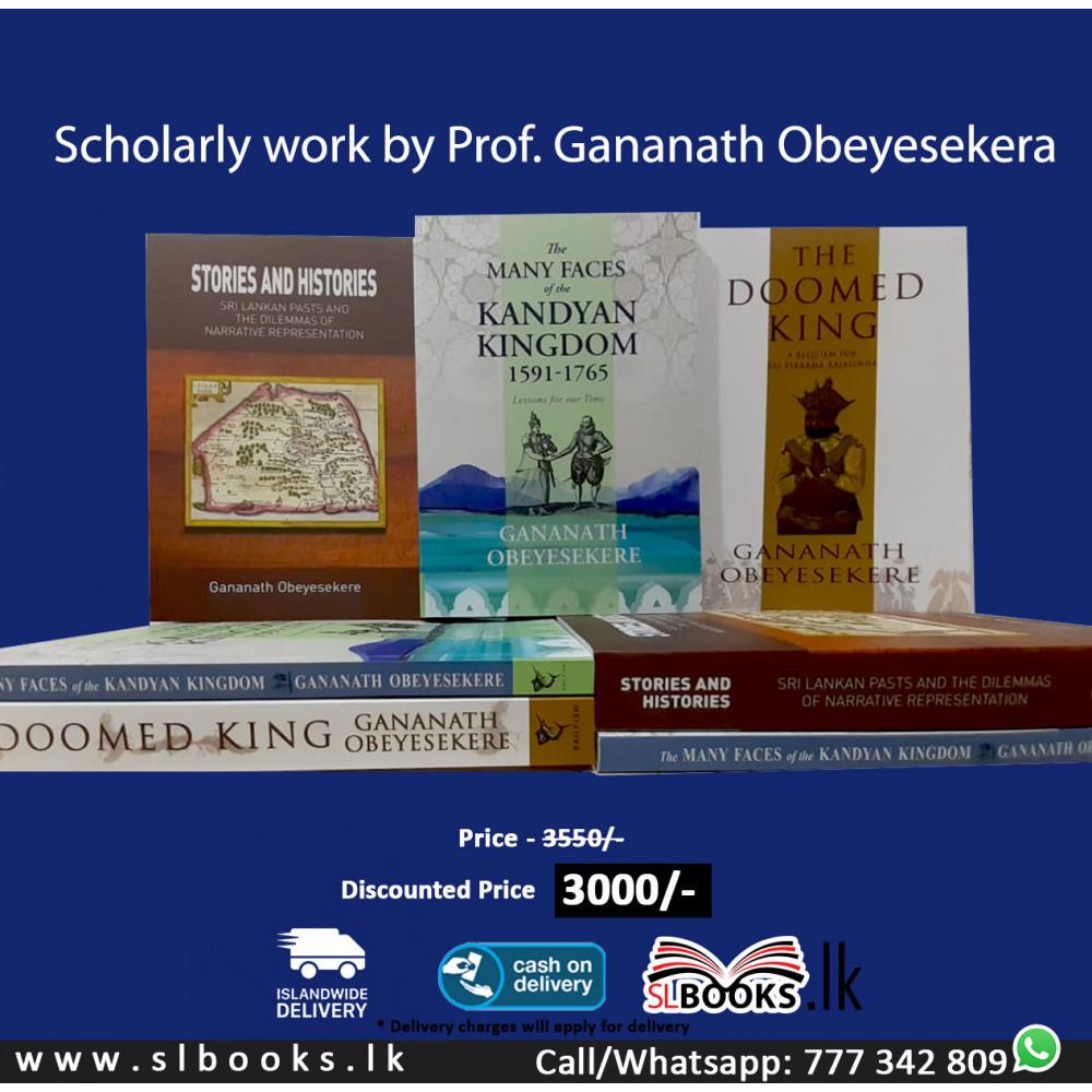 Scholarly work by Prof. Gananath Obeyesekera