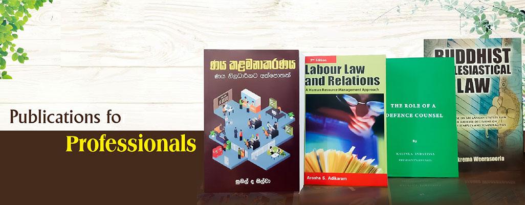 Publication of professionals